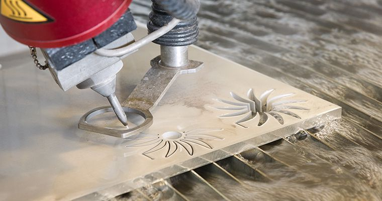 Waterjet cutting and its advantages