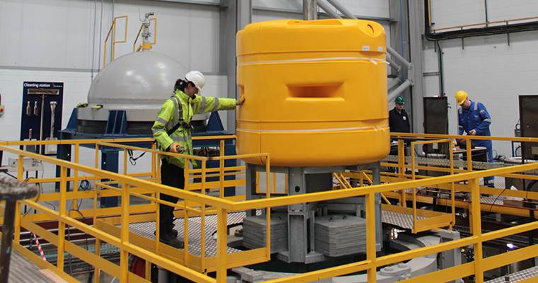 Resato supplies system for fully-automated hyperbaric pressure testing to Balmoral Offshore Engineering in Q2 2018