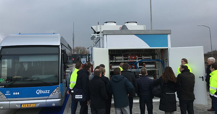 Resato Inside: Hydrogen compressor at PitPoint refueling station in Delfzijl