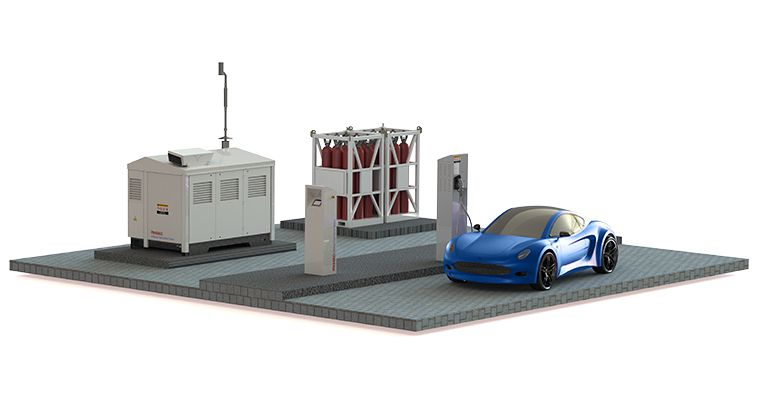 H2Refuel Fleet Owner Station