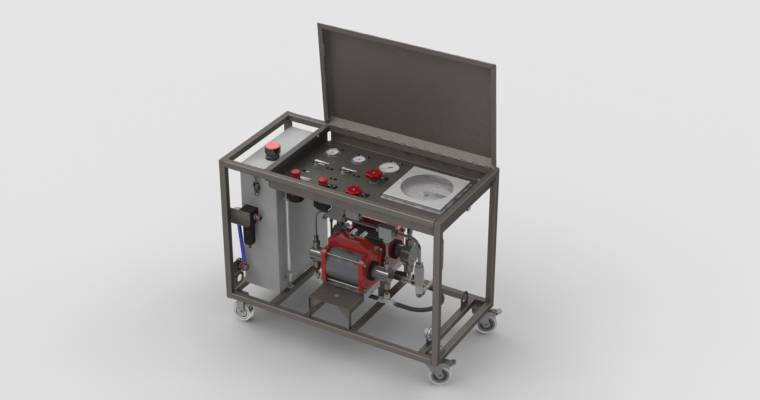 Mobile Pressure Testing Units - Oil & Gas Industry - Resato